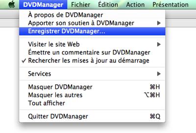 Enregistrer DVDManager…