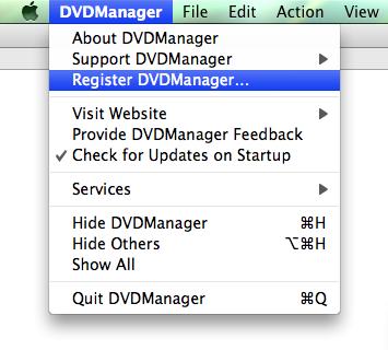Register DVDManager…